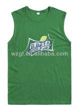 man's tank top with printing,sleeveless t shirt
