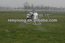 pesticide telecontrolled aircraft