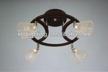 Zhong shan new moder glass ceiling light