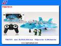 4ch R / C avión con música y luces