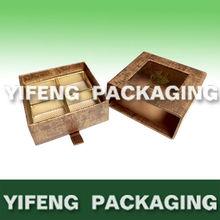 sliding chocolate packaging box