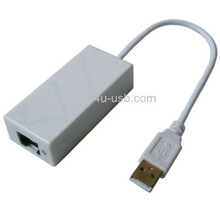 High Quality Usb Fast Ethernet Network/Lan Adapter for Wii u