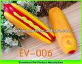 13.7 cm amarelo hotdog baratos por atacado loja de animais