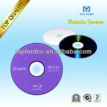 25GB 6X BDR Blu ray Media