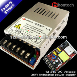12v 36w 3years warranty ce rohs custom switching power supply