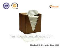 Polyester / Cotton nonwoven disposable hair beauty salon towels salon Supplies