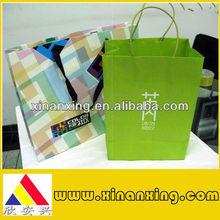 handmade drawing paper bag