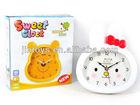 China cheap carton clock China, reloj de carton barato