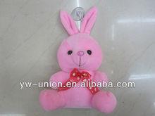 Pink lovely stuffed very cheap rabbit/long ear rabbit stuffed plush