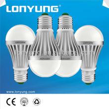New design good heat dissipation energy saving zhongshan factory led bulb lamp