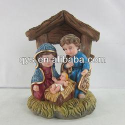 Newest religious cribs set figurine