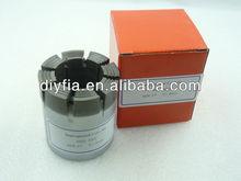 Triple core barrel of NQ3 drill bits