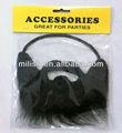 Festa fake preta sintética pirata barba cheia mmo-0181