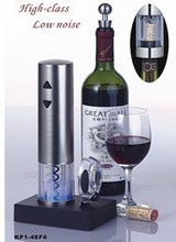 Electric and rechargeable wine opener