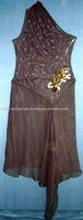 women's silk dress