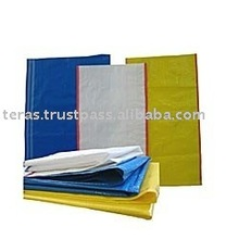 woven pp bag with or without lamination used in packaging