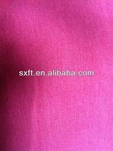 66% polyester 29%rayon/viscose and 5%spandex/lycra/elasticity single jersey fabric