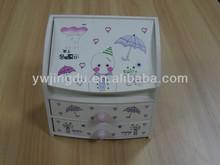 Cute make-up box Wooden make-up box Cosmetics case