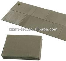 military olive green folded sleeping mat