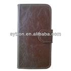 folio design PU leather for iPhone5 case