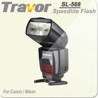 Travor Brand Professional Camera Flash for Canon DSLR Cameras
