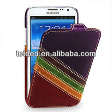 OEM Premium Leather Case for Samsung Galaxy Note 2 GT-N7100 N7108 -- Troyes (Zeus III: Merlot Purple/Burgundy Red 01)