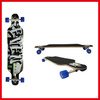 OEM Longboard Skateboard Wholesale With 7&quot; 180mm Aluminium Trucks