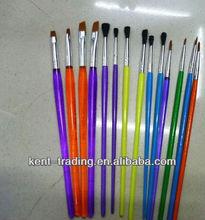 The latest beautiful hot plastic brush pen