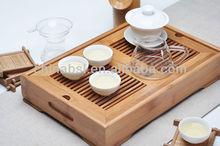 Gongfu Wood tea serving tray