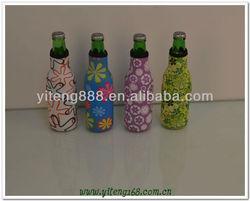 Zipper neoprene bottle cover