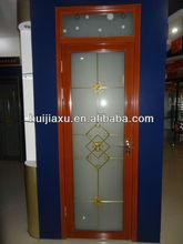 Economic Glass PVC Inner Door