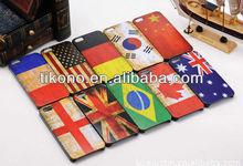 Restore ancient ways flag designs hard plastic phone case for iphone5