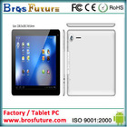 9.7 inch tablet pc quad core 3g android 4.1