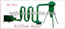 Hot airflow type sawdust dryer/wood drying machine, drying machine with high performance