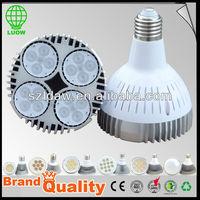 3-35w par20/par30/par38 lampada led dicroica