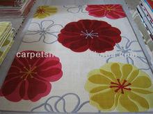Floral Design Cut Rugs/ Handmade carpets