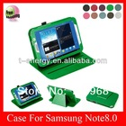 For Samsung Galaxy Note 8.0 N5110 N5100 leather case,leather case for Samsung note 8.0 N5110 ,Green