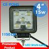 15W Led worklight,offroad led worklamp 12v 24v,car auto accessories