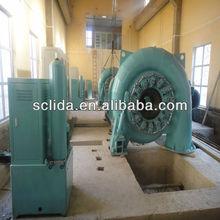 1 MW water turbine generator for hydro power plant