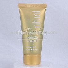 Hotel amenities color tube shampoo