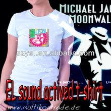 wholesale EL musical rock shirts