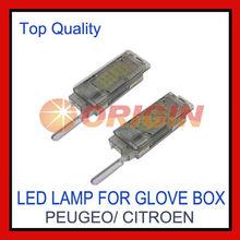 Best selling 12V led car bulbs led glove box light for Peugeot/Citroen
