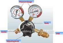 GH-253GN-10 Nitrogen Gas Gauge Pressure Regulator For Welding