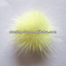 2013 most fashion Raccoon Dog Fur Balls OEM Wholesale/Retail