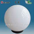 Iluminación exterior uvioresistant exterior de acrílico de la luz del globo accesorio con E27 socket