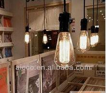 Hot sell classic edison bulb pendant chandelier lighting