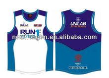 2015 Cheap Custom Sublimation Men's Sportswear Running Vest