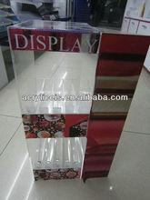 Acrylic cosmetic pop counter top displays