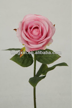 artificial bright color car rose flower 27674H