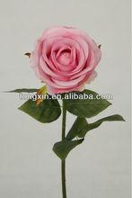 artificial bright color car rose flower 27674H